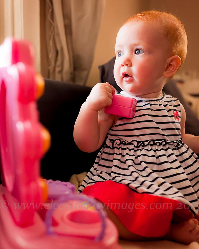 pennsylvania photographer,natural light,baby girl,make up mirroe,make up brush